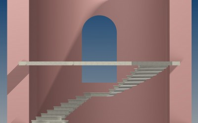 FM. STAIRCASE 3D IMAGE INV MODEL 02