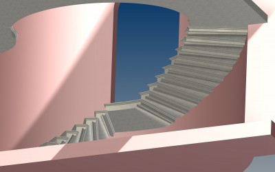 FM. STAIRCASE 3D IMAGE INV MODEL 03