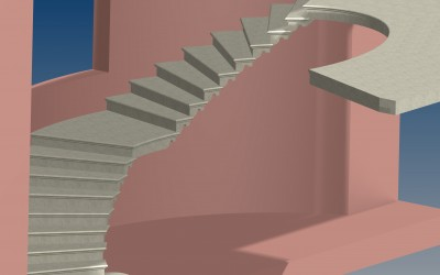 FM. STAIRCASE 3D IMAGE INV MODEL 04