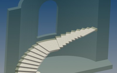 FM. STAIRCASE 3D IMAGE INV MODEL 08