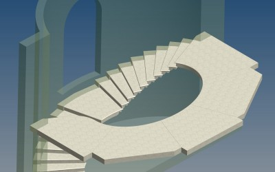 FM. STAIRCASE 3D IMAGE INV MODEL 20
