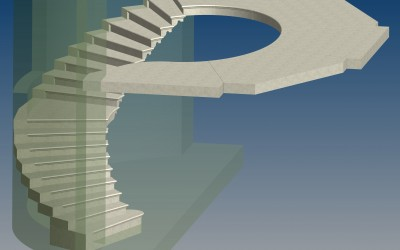 FM. STAIRCASE 3D IMAGE INV MODEL 21