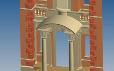 G PORTICO 3D IMAGE INV MODEL 01