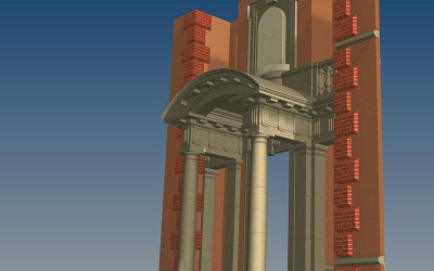 G PORTICO 3D IMAGE INV MODEL 02