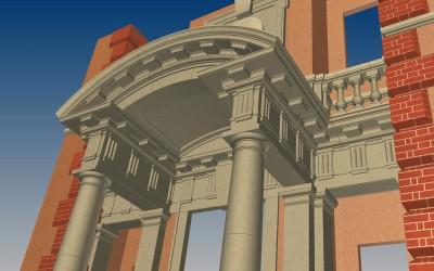 G PORTICO 3D IMAGE INV MODEL 03