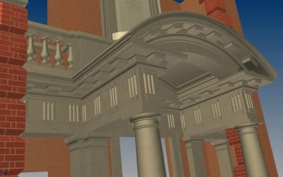 G PORTICO 3D IMAGE INV MODEL 04