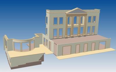 HH. ELEVATION 3D IMAGE INV MODEL 01