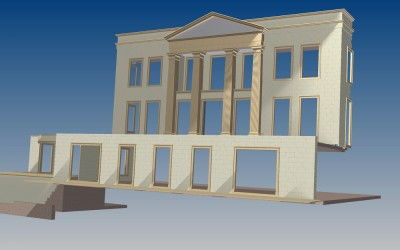 HH. ELEVATION 3D IMAGE INV MODEL 02