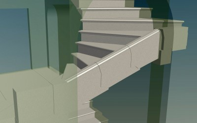 LH. FLYING STAIRCASE 3D IMAGE INV MODEL 04