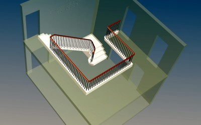 FV STAIRCASE 3D IMAGE INV MODEL 01