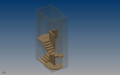 LH WINE CELLAR STEPS 3D IMAGE INV MODEL 02