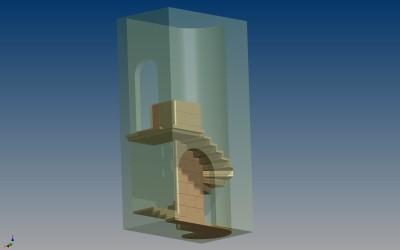 LH WINE CELLAR STEPS 3D IMAGE INV MODEL 05