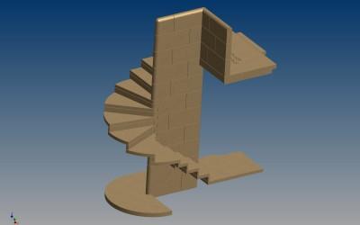 LH WINE CELLAR STEPS 3D IMAGE INV MODEL 06