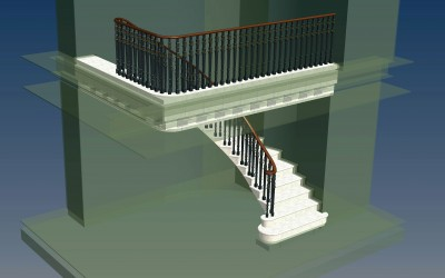 PL STAIRCASE 3D IMAGE INV MODEL 01