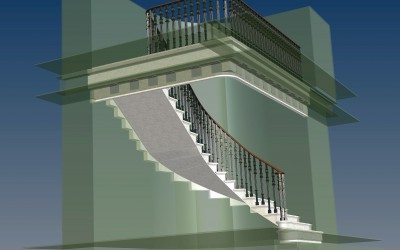 PL STAIRCASE 3D IMAGE INV MODEL 03