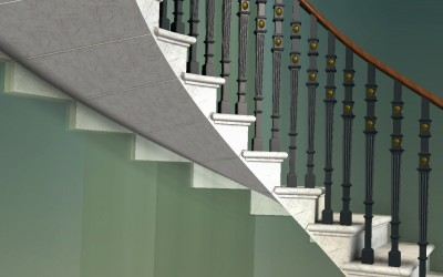 PL STAIRCASE 3D IMAGE INV MODEL 04